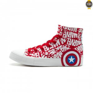 2021 Chaude Chaussures Mode Captain America Feiyue Marvel