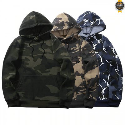 2021 Chaude Sweat Homme Camouflage Militaire